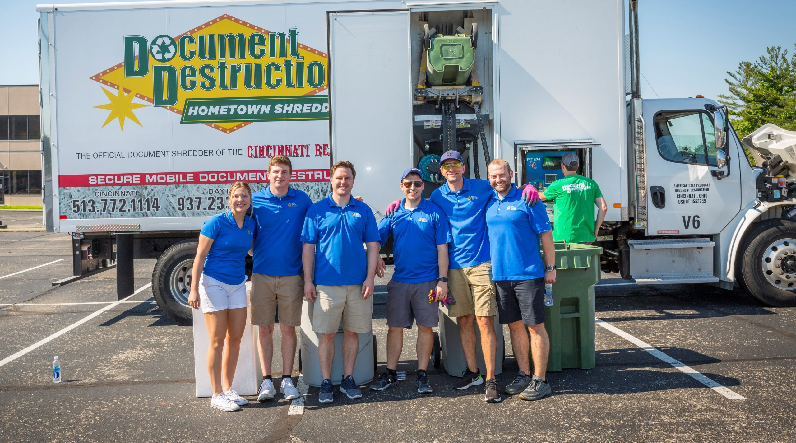 2021 Shred Day Group Photo
