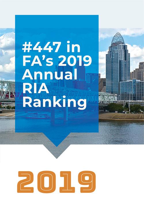 #447 in FA's 2019 Annual RIA Ranking