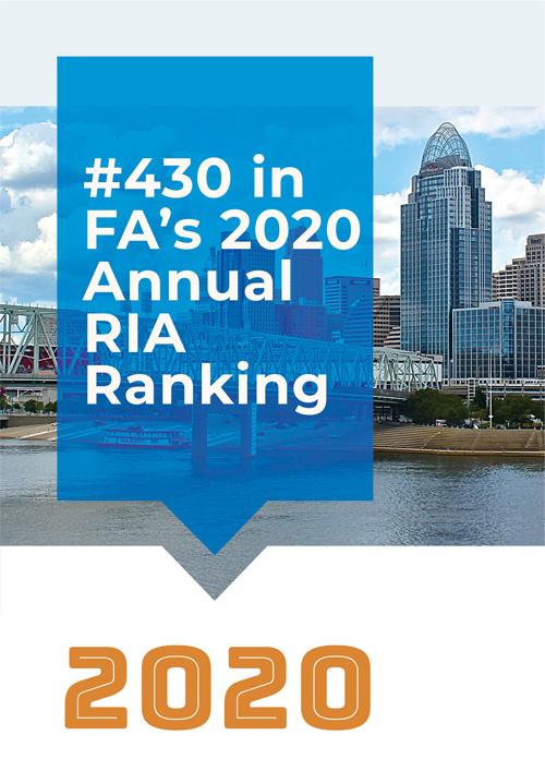 #430 in FA's 2020 Annual RIA Ranking